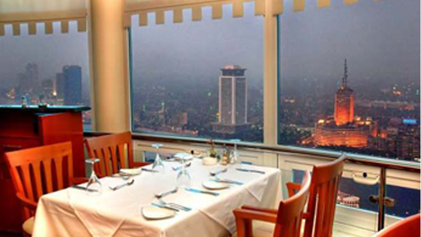 Revolving Cairo Tower